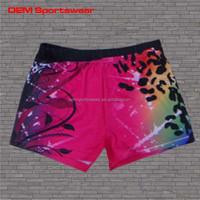 Running and sport clothing custom made spandex cheerleader shorts