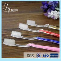 China factory disposable prepasted toothbrush toothpaste for hotel
