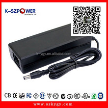 2015 k-23 90w ygy power 120vac desktop switching power supply ac dc 12v 8a ac adapter for mini refrigerator with UL CE
