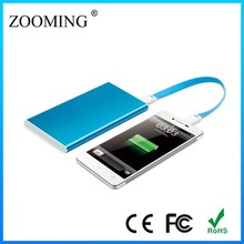 ultra-thin hand crank power bank/ light weight manual generator/fashion hand crank generator
