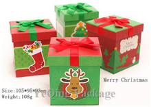 2014 new design paper christmas gift box