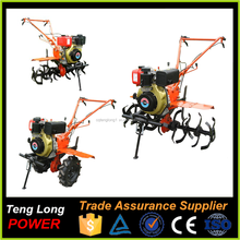 Agricultural Diesel Power Tiller With Rotary Tiller Gearbox For Sale