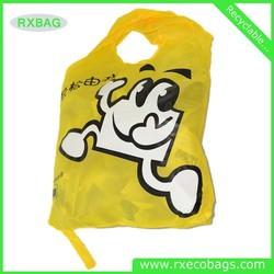 Reusable Nylon folding Foldable Shopping Bag