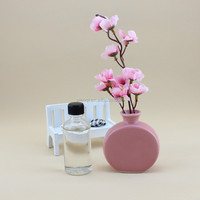 Aroma Glass bottle reed diffuser gift set