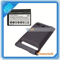 Wholesale! For HTC EVO 4G Extended Battery + Battery Cover (M01125)