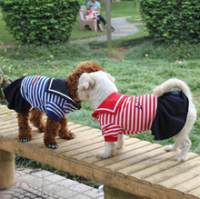 Wholesale Sailor Dog Dlothes Factory Pet Dog Dress for Sale