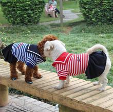 Wholesale Sailor Dog Dlothes Factory Pet Dog Dress for Sale