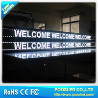 single color wireless scrolling led display