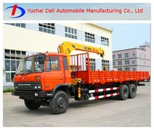 Dongfeng Old style double axles 8t capacity towing crane for sale