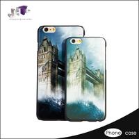 3d liquid Single Bottom phone case for iphone 6