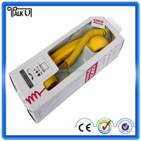 Hot selling mobile phone handset for iphone, Innovative Anti-Radiation plastic Bluetooth retro mobile/cell phone handset