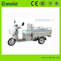 48V 500W Colorized Electric Tricycle,Adult Style,3 Wheel Electric Bike for Passenger and Cargo Loading