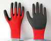 13 Gauge Industrial Hand Working Latex Coated Safety Glove