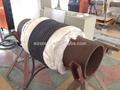 Soldadura de precalentamiento equipo, inducción calentador, inducción bobinas, tubería conjunta de precalentamiento