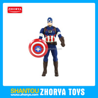 "wholsale Hot High simulation comics American captain iron-man Thor Ultron model 6"" 5 super heroes marvel avenger action figures"