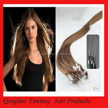 2015 Qingdao Fantasy hot sale high quality unprocessed micro links hair extensions