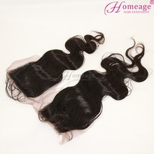 homeage top bohemian hair lace closure light brown lace closure