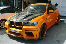 Haman style body kit for X6 X6M E71 fiber glass material