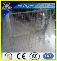 HOT SALE !! 2015 China Best Selling Used Welded Wire Mesh Dog Cage Prices