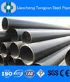 鋼管api5ltongyuna106シームレス鋼管astma53黒色塗装、 斜めの端部とキャップ