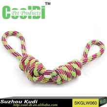 2015 hot sales pet products cotton rope knot dog toys for bites
