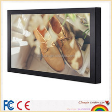 22 inch lcd touch monitor touch screen , flat and thin touch screen monitor