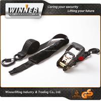 colourful metal cam buckle cargo lashing belt