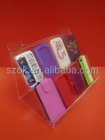 The latest design hot sale acrylic cell phone/acrylic mobile phone display