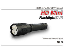 XM-L T6 Rechargeable Multi-function camera flashlight