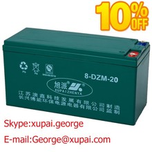 OEM Eco Friendly MF 8-DZM-20 Escooter Battery 16V20Ah Rechargeable Sealed Lead Acid Battery for E-bike/Escooter