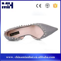 High Heels Rivet Shoes Fashion Design Office Lady Footwear