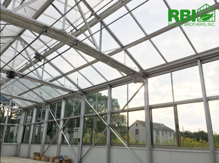 Aluminum Frame Glass Greenhouse Pc Greenhouse With Aluminum ...