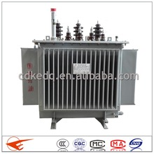 Oil Immersed Power Distribution Transformer 6~11KV 30KVA Manufacture