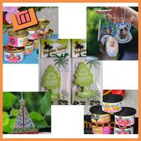 Custom little tree paper car air freshener wholesale
