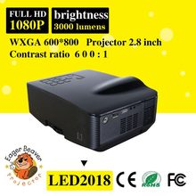Hd projector trade assurance supply led projector built in dvd player