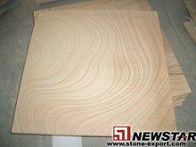 Sell Yellow Sandstone Slabs, Panels and Mushroom Sandstones