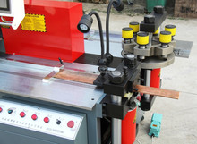 hydraulic cnc busbar processor machine busbar cutting machine bus bar shearing machine