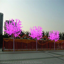 Best selling energy-saving LED cherry blossom tree light holiday decorate landscape lighting tree for sale