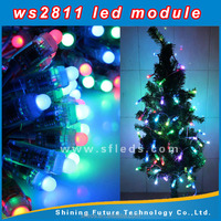 WS2811 IC Pixel Node LED Exposed Light String full color circular led display modules