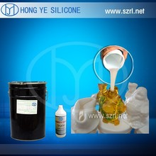 Silicone rubber molding polyurethanes, polyester resins