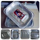 Folha de alumínio recipiente de alimento