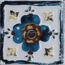 FOSHAN building materials fashion design 75x75mm hand printed handmade ceramic wall and floor tiles