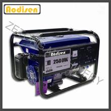 OHV 2kW-7kW petrol engine low rpm generator alternator