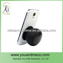 Funny portable waterproof shower bluetooth speaker enable adsorb on wall and car