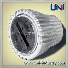 UNI40006 China wholesale customized aluminum die casting led radiator aluminium led lamp shade