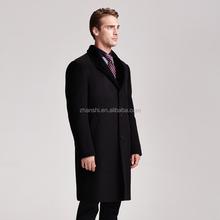 Latest Design Cheap Fashion 100% wool cashmere fabric coat for men