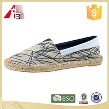 Chinese manufacturer high grade canvas loafer