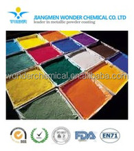 normal smooth surface pure epoxy powder coating stainless steel item