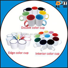 for business logo and meeting souvenir sublimation ceramic coffee mug with silicone lid