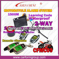 remote starter for motorcycle for two way motorcycle